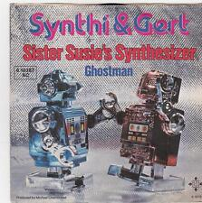 Synthi & Gert - Sister Susie's Synthesizer/Ghostman (Vinyl-Single 1978) RARE!!!