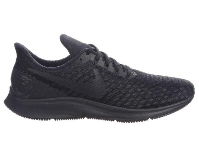 da4428d4fe2d Nike Air Zoom Pegasus 35 Mens 942851-002 Black Oil Grey Running Shoes Size  10
