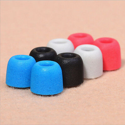 6pcs Brand New Memory foam Noise isolation In-ear earbud replacement Tips