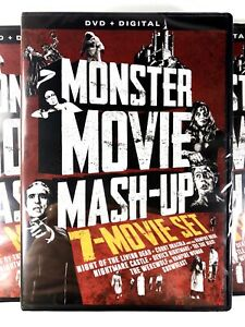 Monster-Movie-Mashup-7-Film-Classic-Horror-Collection-New-Sealed-DVD-Ships-Free