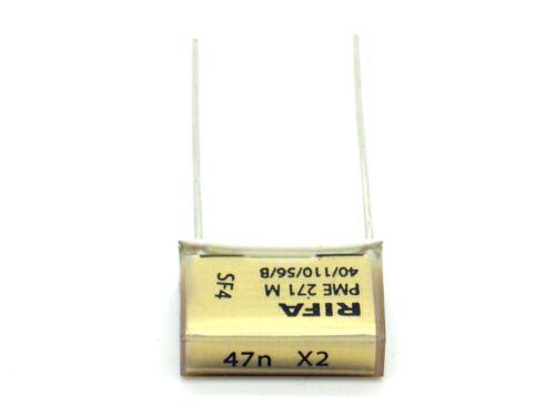 PME271M RM 15 1x RIFA Kondensator 47nF X2 275V~ SH I220 0,047µF,uF