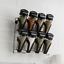 spice-rack-Trudeau-8PC-spice-jar-spice-stand-spices-included-wall-mount-drawer thumbnail 4