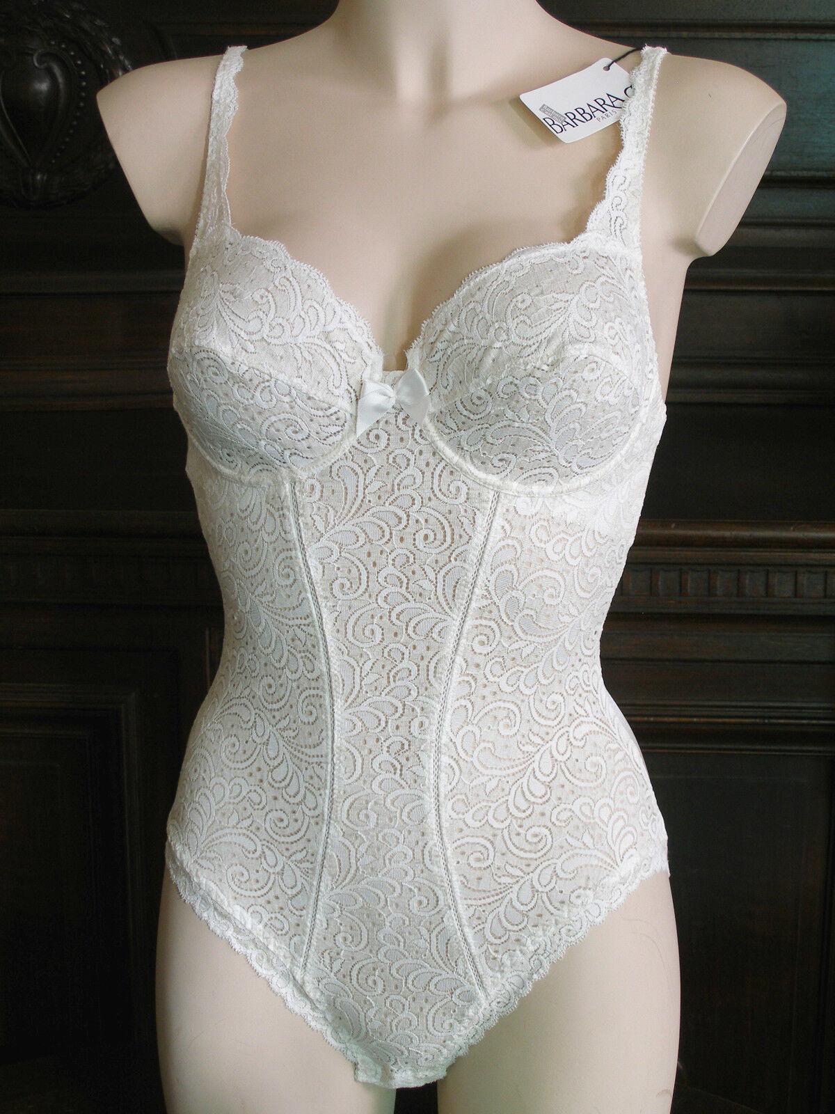 Barbara Paris Designer Bügel Body Gr.70B Natur Ecu mit Leinen 32B UW Linen€169