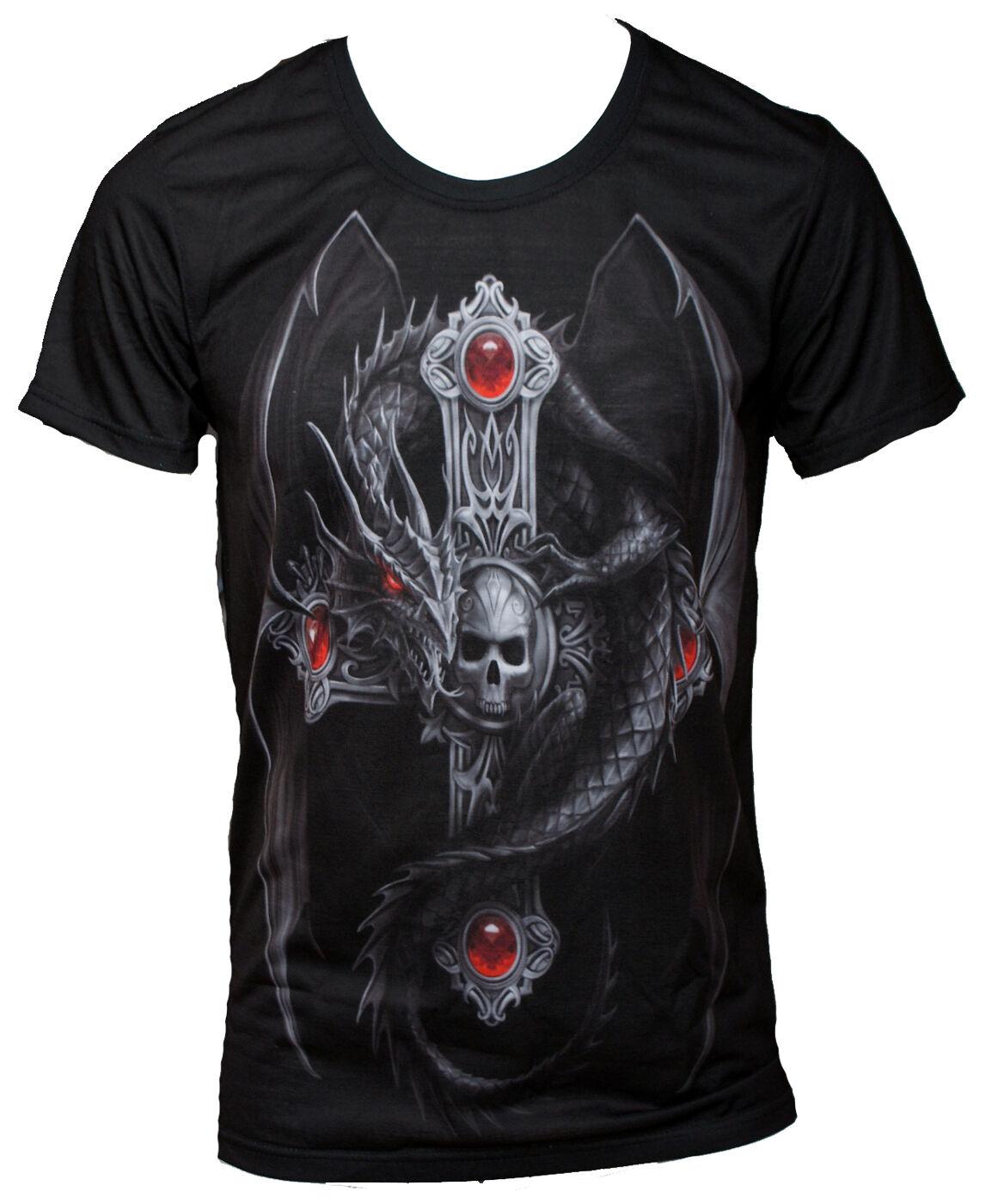 Anne Stokes - Wild Star Hearts - GOTHIC DRAGON - T-Shirt - Größes M - 7XL     Sonderkauf    New Style    Um Sowohl Die Qualität Der Zähigkeit Und Härte