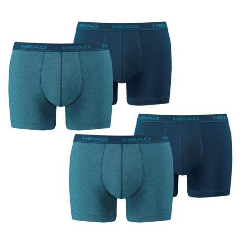 Head short boxer 4er pack trunk slip Blue Heaven Bleu Jeans Nouvelle Couleur