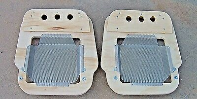 MGA Seat Base Pair 1956 to 1962 Roadster or coupe Driver and Passenger set New