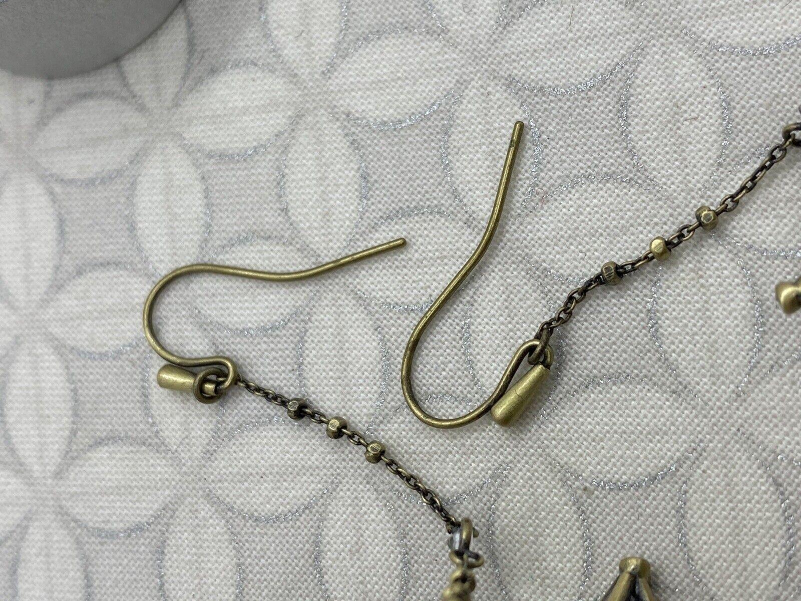 Kendra Scott Diana duster long dangle earrings an… - image 4