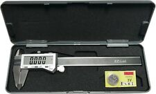 6 Digital Electronic Caliper Fractional 3 Way Lcd Stainless Ez Cal By Igaging