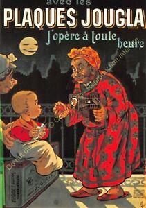 CP Poster Advertising Plates Janet Edit Nugeron J21