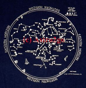 Image Is Loading Glow Summer Star Chart Planisphere Constellations Astronomy E