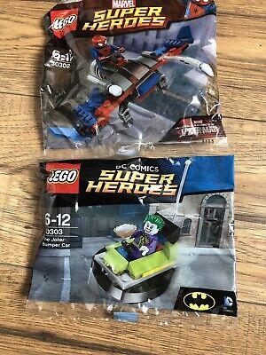LEGO minifigure Joker - sh590 DC Super Heroes split from 76119 NEW