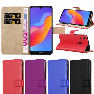 outlet buy good free shipping Détails sur Coque pour Huawei Honor 8 A pour Honor 8X TéléPhone étui  Portefeuille en cuir flip Housse Livre- afficher le titre d'origine
