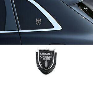 For Lincoln Car Auto Metal Emblem Sticker Rear Badge Side Decal Logo Styling