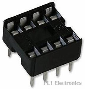 TE CONNECTIVITY    1-2199298-2    IC & Component Socket, DIP Socket, 8, 2.54 mm,