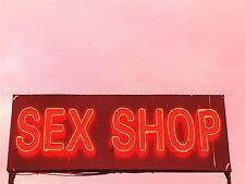 PHOTOGRAPHY COMPOSITION SEX SHOP NEON SIGN ART PRINT POSTER MP3432A