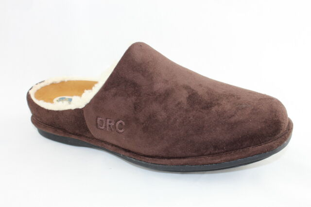 Dr Comfort Orthotic Orthotics Diabetic Slippers / Shoes Men's Brown, Half Foot