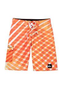 arancione bianche surf 29 Nwt surf 881634239932 righe Quiksilver Boys Pantaloncini a da da gialle nRzPgPqw