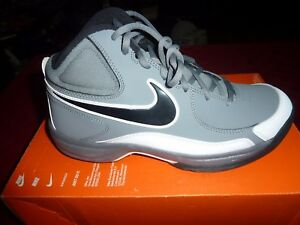 35dad1d964053 Details about MENS NIKE OVERPLAY VII BASKETBALL SHOES GRAY & BLACK  MISMATCHED R=8 L=7.5 NWOB