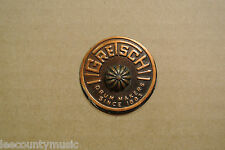 1960's GRETSCH ROUND BADGE for YOUR DRUM & SET!!! LOT #S552