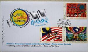 Malaysia FDC with Stamps (22.10.2013) - 2013 Universal Children's Day