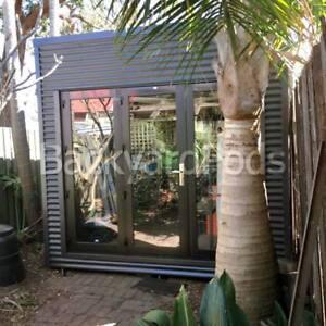 Backyard pod kit garden studio home office DIY customise