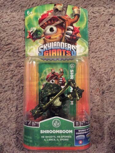 Skylander Giants ~ Exclusive Metallic SHROOMBOOM ~ Neuf dans sa boîte