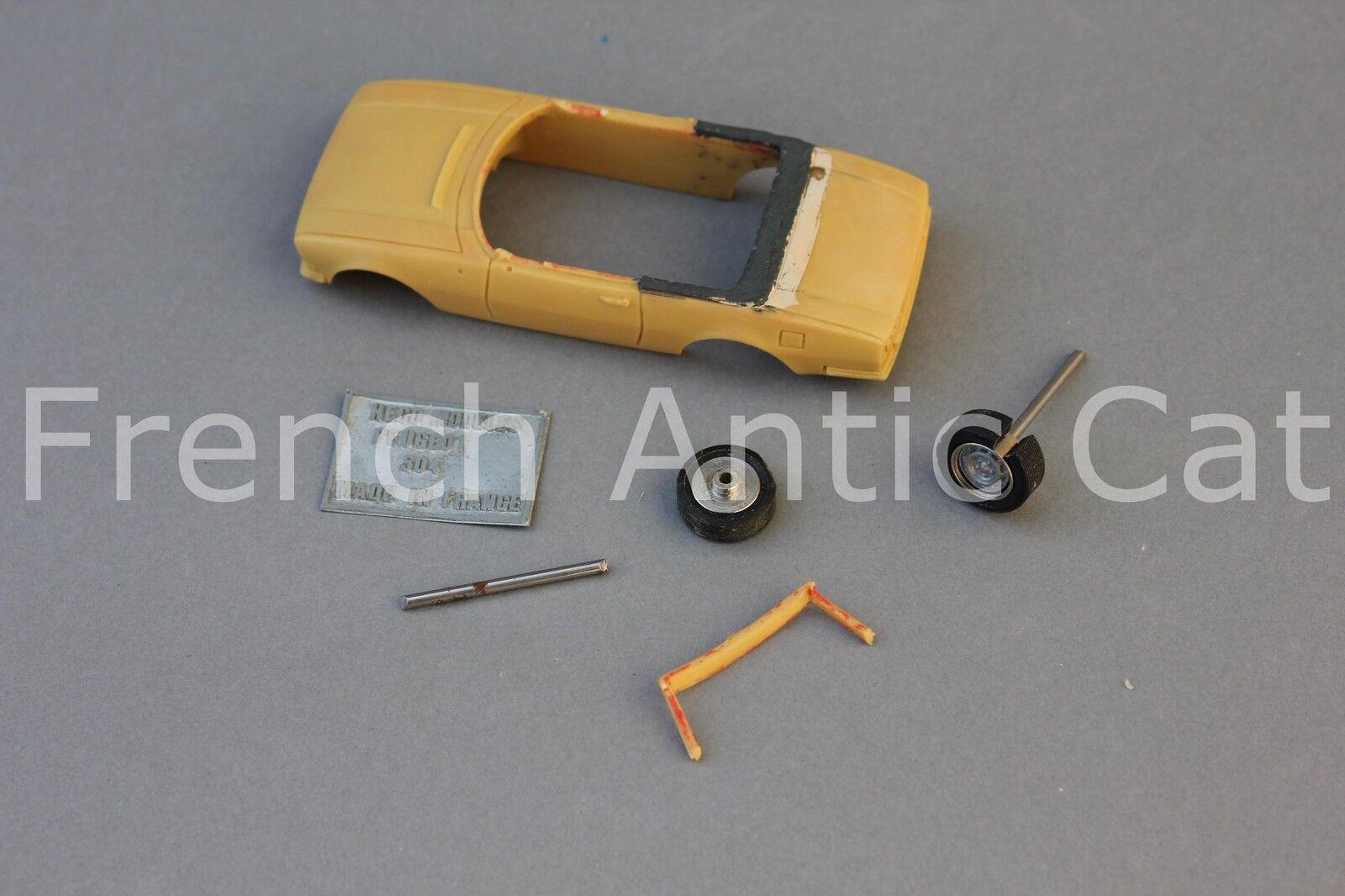 Rare modele résine prossootype PEUGEOT 504 1 43 Heco modeles véhicule FE'
