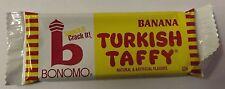 Banana Bonomo Taffy Candy Bar 24 Count Box