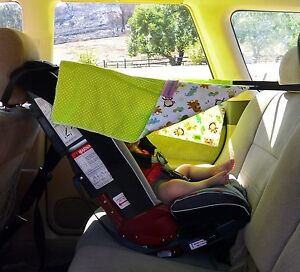Newbie Shade (Child and Infant Car Seat Shade Cover Protects Baby from the Sun)