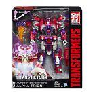 HASBRO Transformers Titans Return Clase de Voyager ALPHA TRION Figura de acción