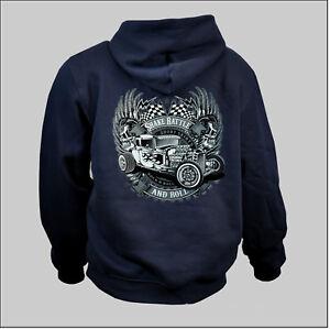 Con Sportiva Sweater D'epoca 1087 Custom Cappuccio Auto Felpa Garage Rockabilly dZwtqt