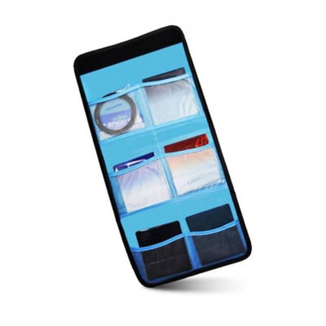 Portable 6 Pocket Camera Filter Lens UV CPL Shockproof Bag Case Pouch Holder c