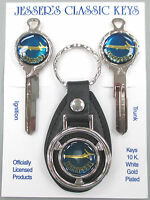 Plymouth Blue Barracuda Deluxe Classic White Gold Keys 1970 1971 1972 1973 1974