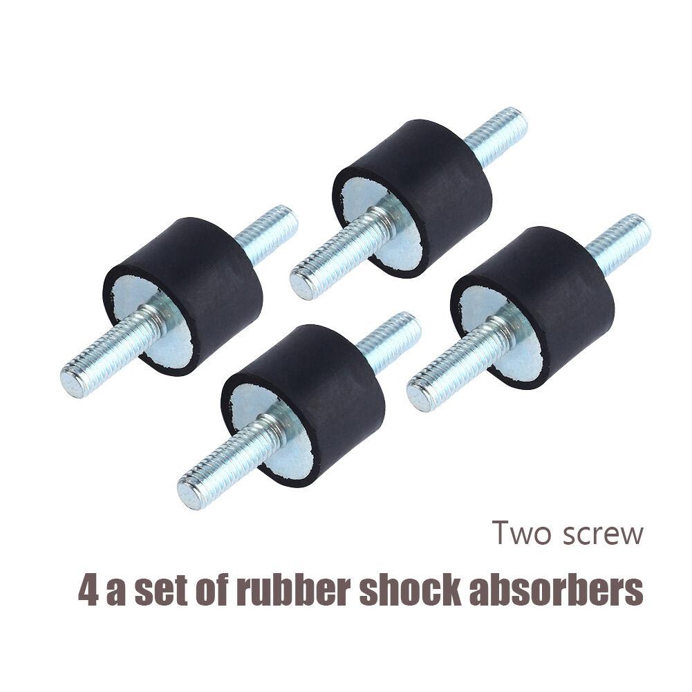 4pcs M4-M8 Anti Vibration Rubber Mounts Shock Damper Car Air Compressors Pump*sg