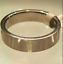 thumbnail 3 - Men's Stainless Steel Band Ring Cubic Zirconia  Sizes 12 13
