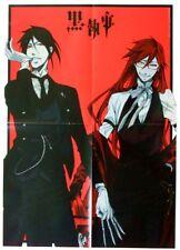 Black Butler Kuroshitsuji Poster promo official Grell & Sebastian