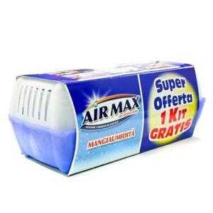DEUMIDIFICATORE-MANGIAUMIDITA-039-AIRMAX-sali-assorbi-umidita-gr-450x2-fino-a-60-M3