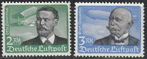 Stamp-Germany-Mi-538-9x-Sc-C55-6-1934-3rd-Reich-Airmail-Lillenthal-Zeppelin-MNH