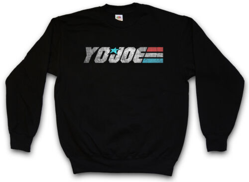 Yo Joe Felpa GI COBRA Movie American Hero Joe Commander Logo Felpe Pullover