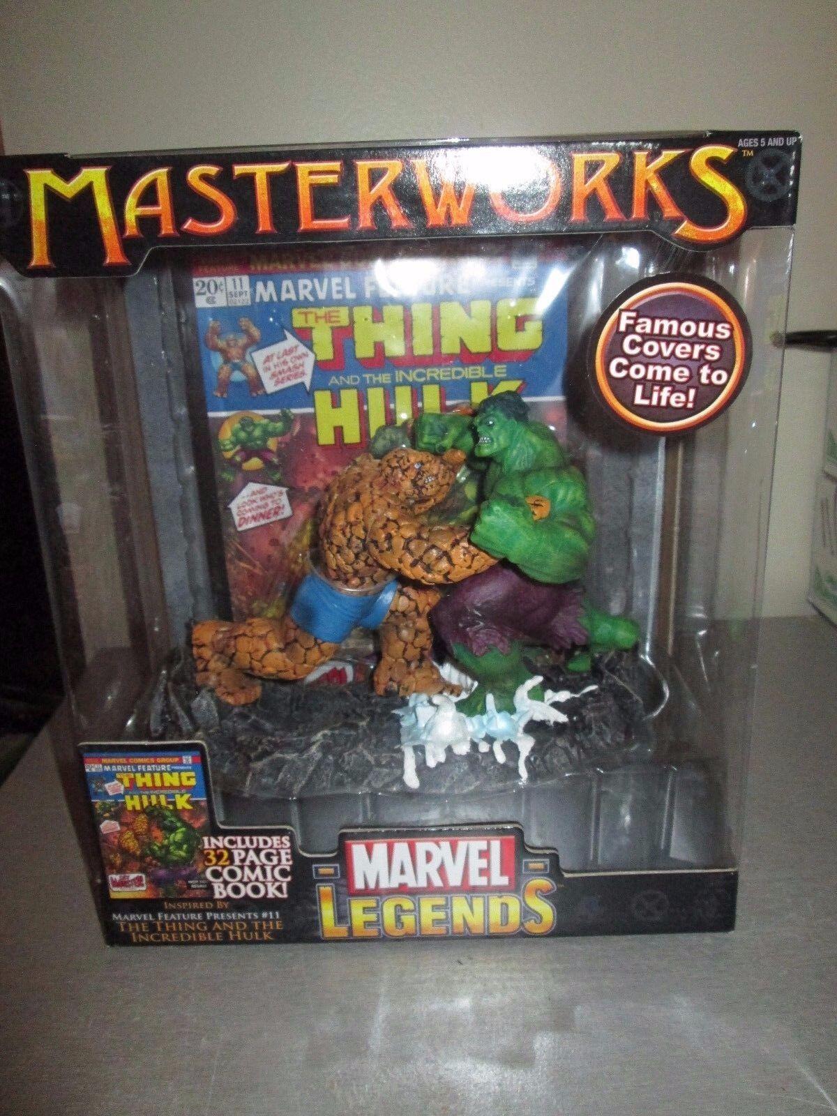 Marvel Legends Masterworks The Hulk vs The Thing NIB Rare