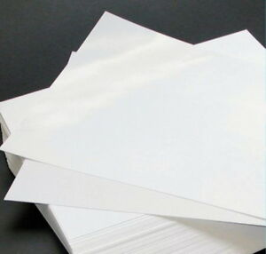 12 A4 Edible Wafer Paper Sheets Baking White Rice Paper Other Cake Decorations & Cake Toppers
