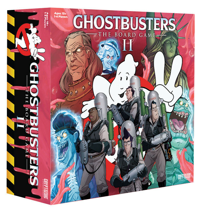 GHOSTBUSTERS - The Board Game II (Cryptozoic)  NEW