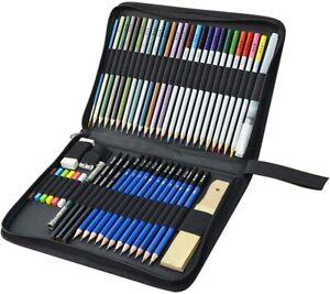 Matite Disegno Colorate, KidsPark 52 Pezzi Set da Matite...