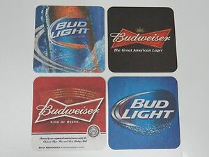 Image Is Loading 4 Beer Bar COASTERS Anheuser Busch Brewing Company