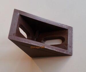 12 Corner Bracket, Plastic, Brown, 24mm X 24mm X 17mm Brace Soyez Amical Lors De L'Utilisation