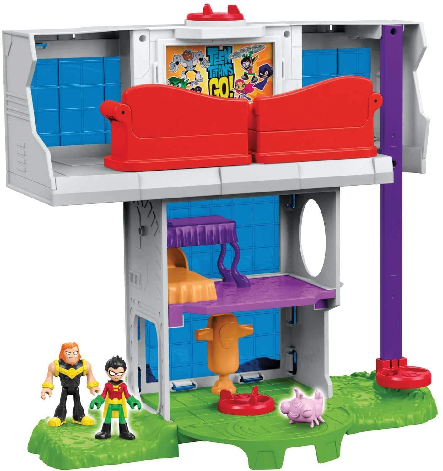 Fisher - price imaginext teen - titanen turm playset gehen