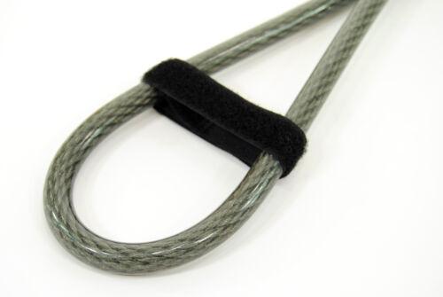 Kryptonite KryptoFlex 710 Double Loop Braided Steel Cable Bicycle Lock 7/' x 10mm