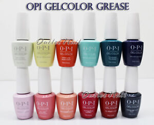 OPI-Soak-Off-GelColor-GREASE-Collection-SUMMER-2018-PICK-Any-Gel-Polish