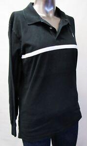 Details zu Ralph Lauren,Neuwertig,Damen,Polo,Shirt,Langarm,Schwarz,XL(USA),Gr.44