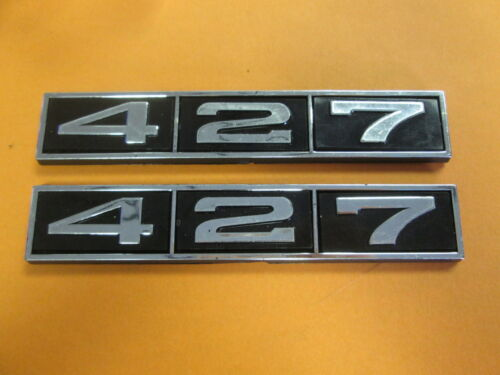 "NEW 427 HOOD SCOOP EMBLEMS 5/"" SELF STICK"